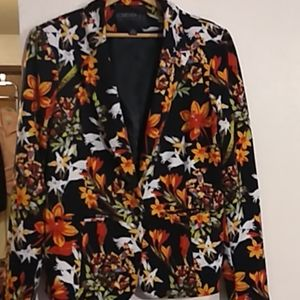Forever21 floral blazer XL